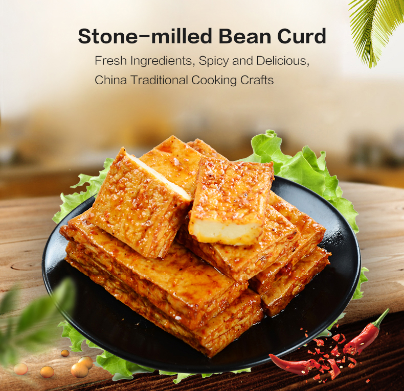 Export Traditional Chinese Snacks Chicken Juice Stone-milled Bean Curd -  Buy Traditional Chinese Snacks,Chinese Snacks,Chinese Bean Curd Product on