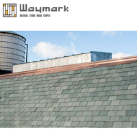 Factory wholesales Ocean Green Natural slate roof tiles