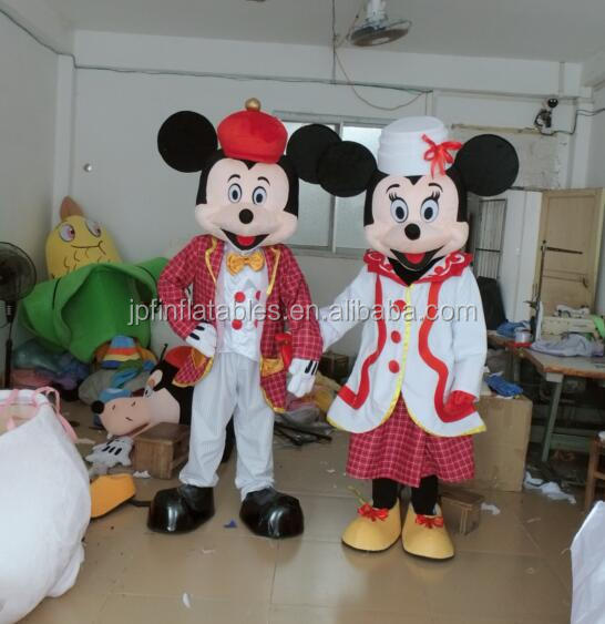 2017 cheap factory price Hot selling cheap mouse Mascot Costume for sale