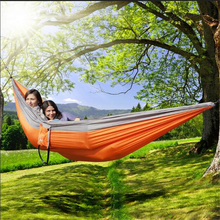 2017 Summer Holiday New Ripstop 210T Nylon Portable Foldable Camping Hiking Hammock