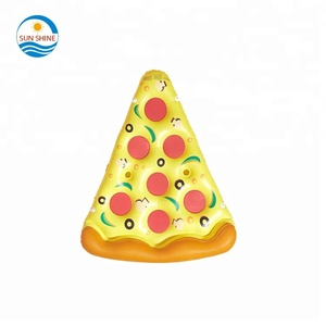Wholesale custom inflatable pizza pool float for adults swimming pool float