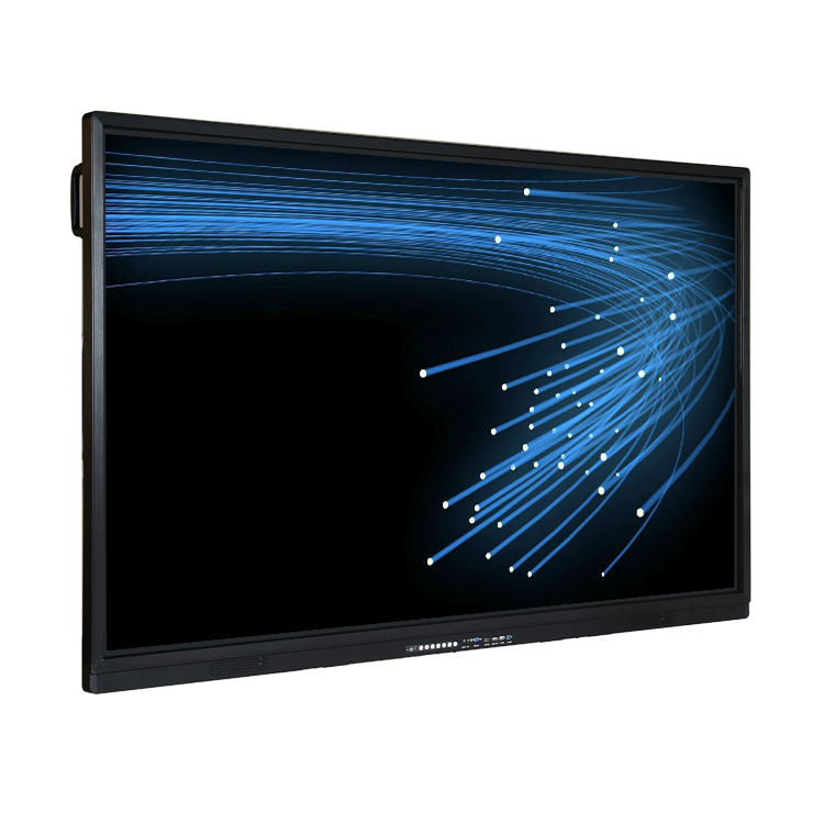 65 75 86 pulgadas smart tv interactiva táctil pantalla