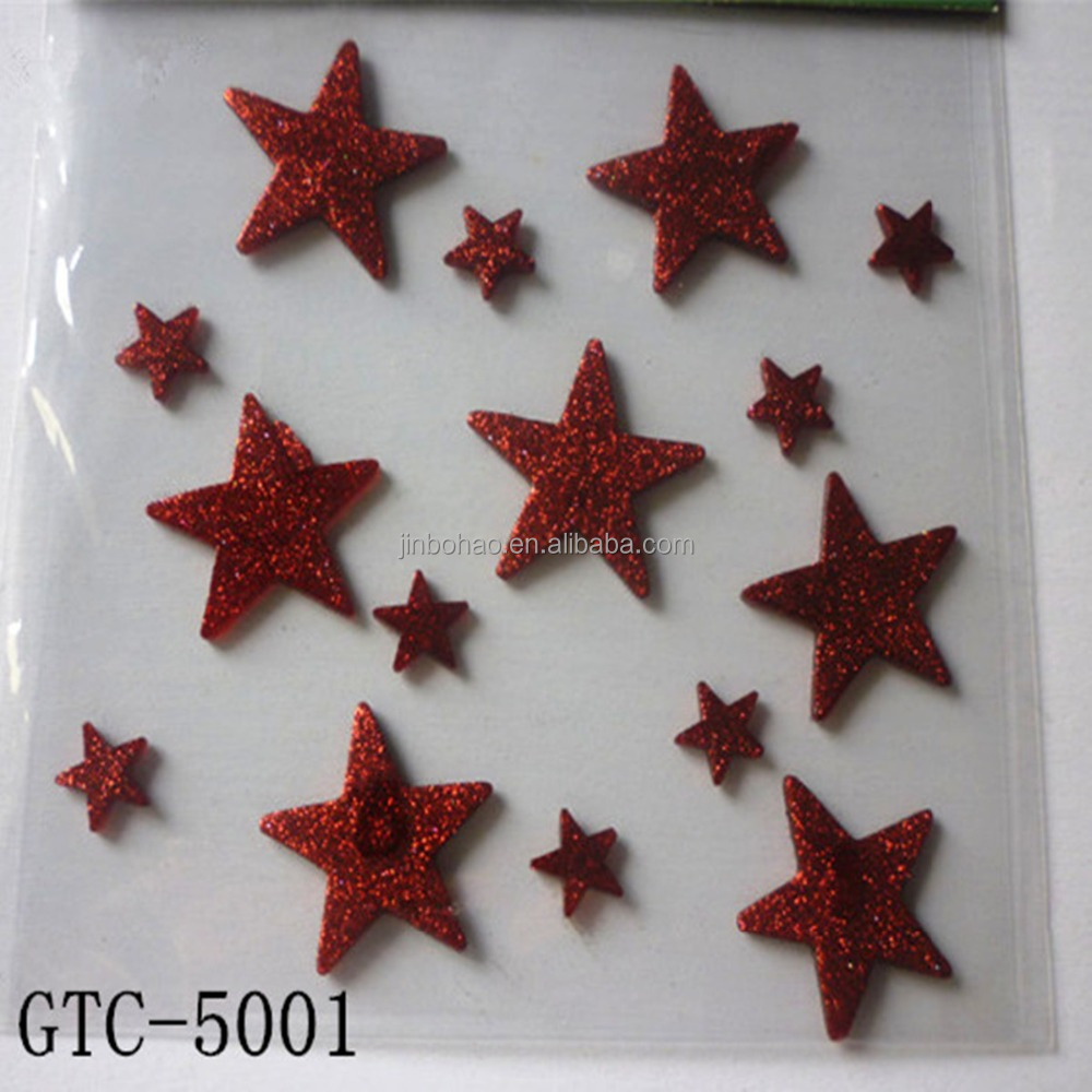 Christmas window decals sticker remove decoration sticker