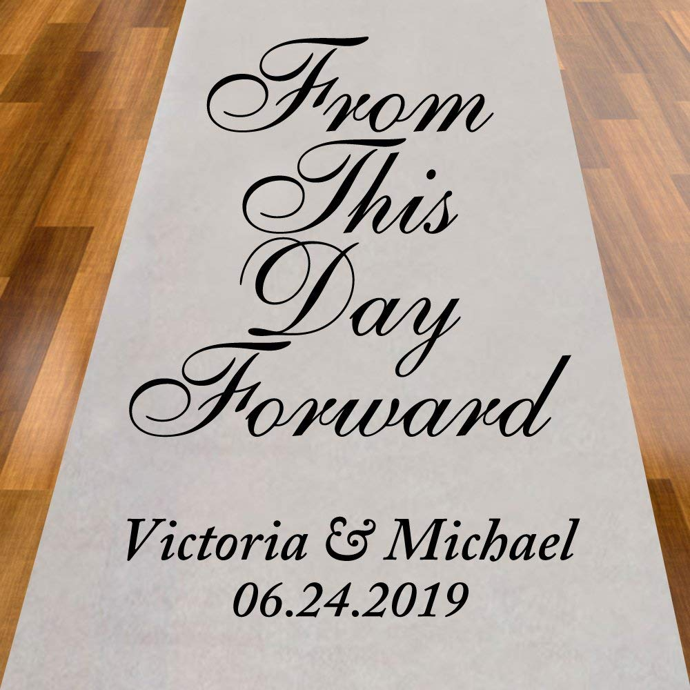 Cheap Personalized Aisle Runner Find Personalized Aisle Runner