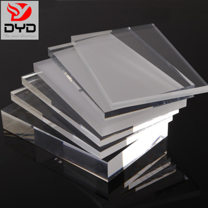 Wholesale clear transparent PMMA acrylic plexiglass plastic sheet