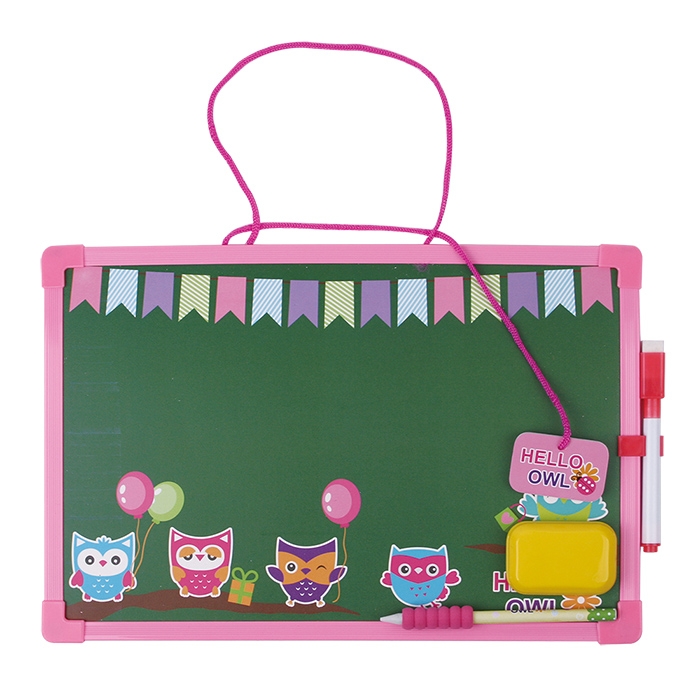 INTERWELL LPA87 Children Chalkboard, Cartoon Hanging Cafe Chalkboard