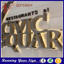 Metal Sign Letters Wholesale Fujian Quanyi Advertising Sign Co Ltd Signsignage
