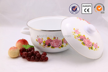 Enamelware Casserole Clear Glass Cooking Pot Buy Clear Glass