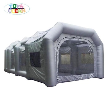Outdoor Mobile Inflatable Car Spray Booth baking booth