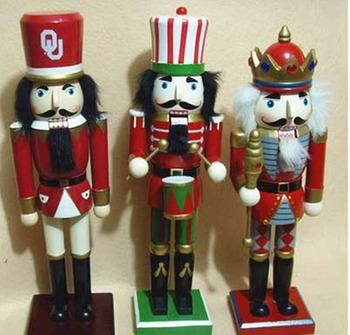 2017 industrial custom wooden soldier nutcracker for christmas decoration - Christmas Soldier