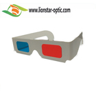 March Promotional 10% Off , Colorful Printing Paper Red Cyan 3D Glasses Anaglyph Glasses Red& Blue Glasses from China