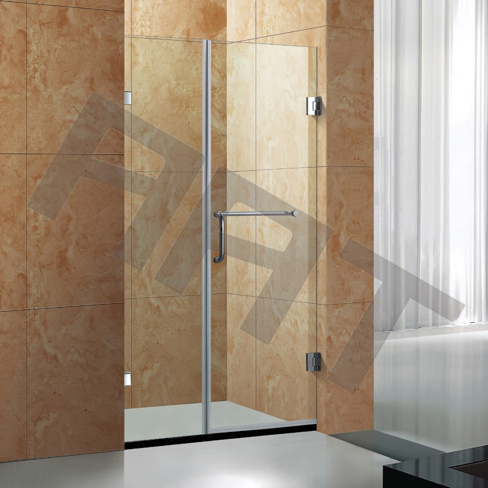tempered glass enclosed shower cabin