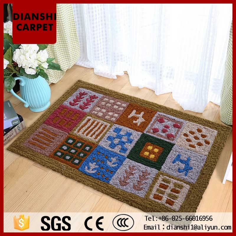 Famous Brand Design Bathroom Carpet Mat Set With Different Pattern