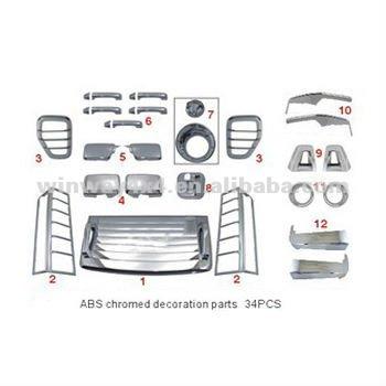 Car Body Kits For Hummer H3 2006 Onward