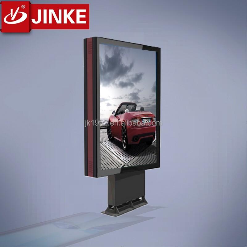 Highway 2 Sides Ads Display Led Board Lightbox/metal Billboard For ...