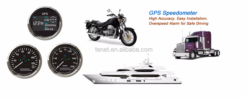Universal GPS Speedometer for Racing Car Motorcycle