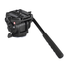 Kingjoy professionele video statief hoofd compatibel met <span class=keywords><strong>manfrotto</strong></span> VT-3510
