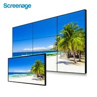 Hot New Double Screen Lcd Advertisement Signage Video Player With Extra Buttons Bluetooth For Indoor Outdoor