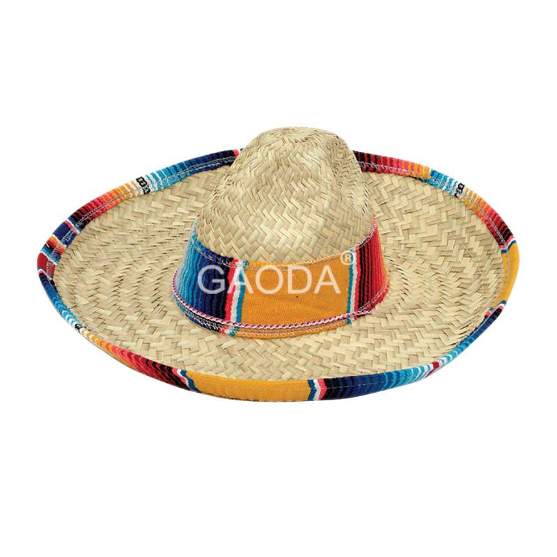 New Style Handmade Mexican Sombrero Straw Hat