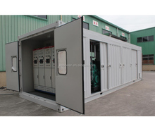 1000KW continuous power natural gas generator with waterproof container for sale