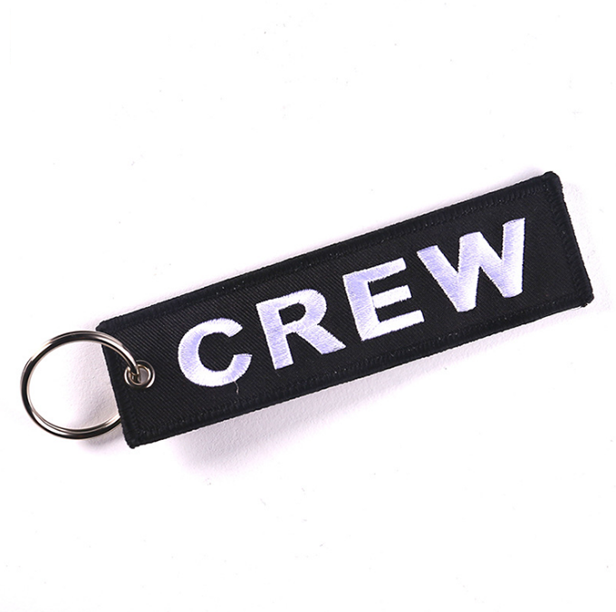 Wholesale Cheap Design Custom Brand Name Logo Embroidery Fabric Airplane  Keychains For Before Flight - Buy Airplane Keychain,Wholesale