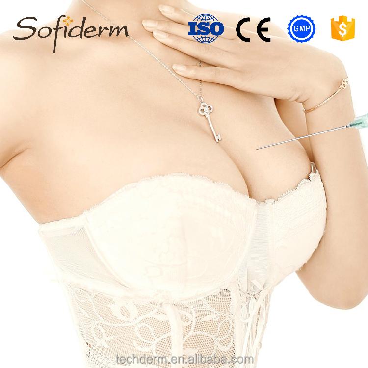 Cross-linked Sofiderm for breast injection hyaluronic acid gel filler