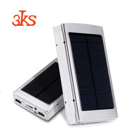 Camping Essential LED Light Portable Mobile Solar Battery Packing Charger Solar Charger Power Bank