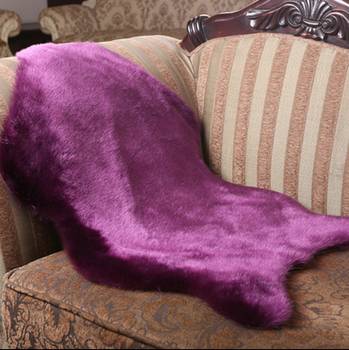 Faux Fur Rug Imitated Sheepskin Carpets Animal