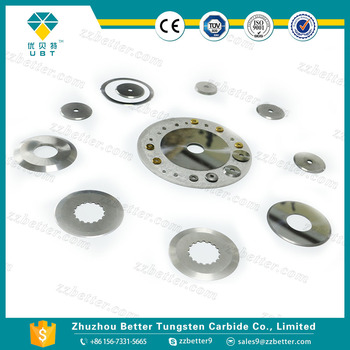 Ultra fine grade tungsten carbide metal cutting blades in Zhuzhou