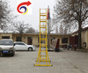 Electric power construction miter ladder glass reinforced plastic double-sided extension ultra high lift ladder