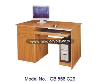Simple en bois mdf ordinateur portable table détude bureau détude