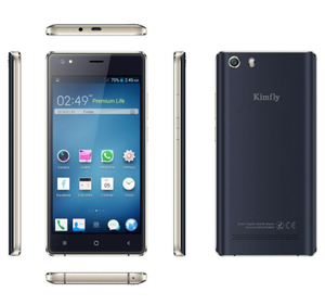 Kimfly M6 5 0 inch cheap android phone 2G GSM+3G WCDMA dual sim card  smartphone
