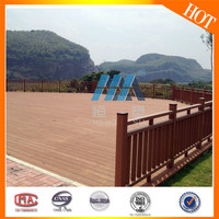Easy to install ECO-friendly WPC outdoor decking / fence and railing