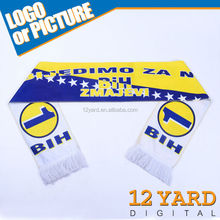 Customized sublimation printing Advertising scarf for party activities