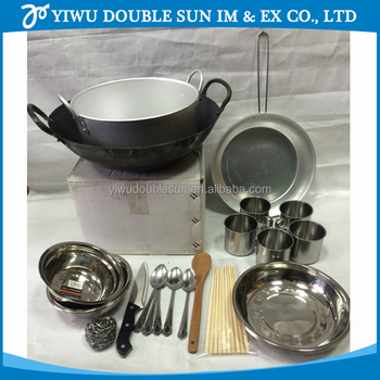 Icrc Kitchen Sets Type B And Kitchen Ware For Relief Supplies