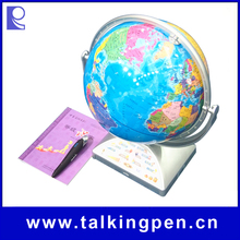 OEM Educational Talking Globe with Audio Pen in any Languages