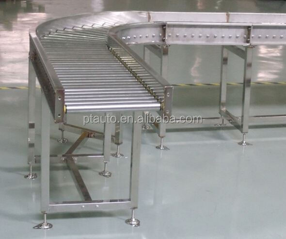 Gravity roller conveyor, gravity conveyor, roller conveyor
