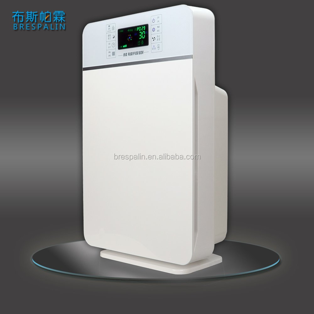 Home 5 Million Negative Ionizer and Activated Charcoal HEPA Air Purifier with Dust Sensor