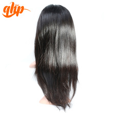 QHP indian remy human hair silk base full lace wig