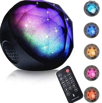 Fashional Design Cheap LED Colorful Magic Ball Wireless Speakers with remote control