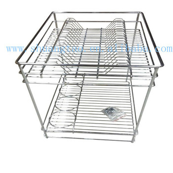 Iso Guangzhou Factory Cabinet Sliding Basket,Pullout Wire Baskets - Buy  Kitchen Cabinet Wire Basket,Kitchen Drawer Basket,Cabinet With Baskets  Drawers ...