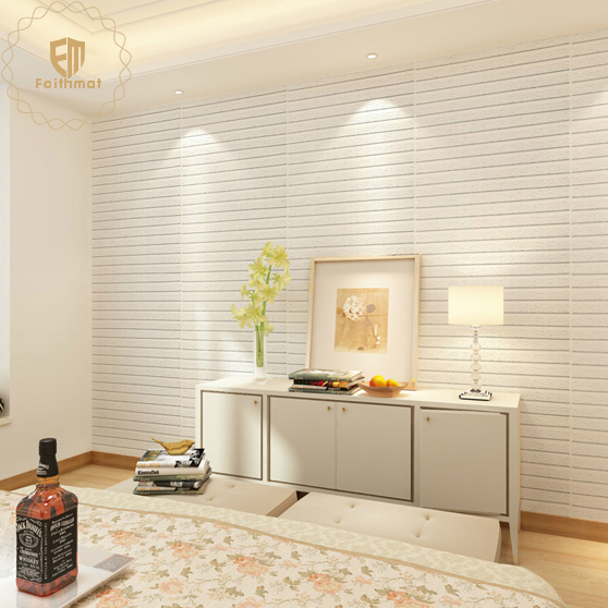 ECO Friendly XPE Faux Brick 3D Wall Panels Wall Sticker Wall Panel
