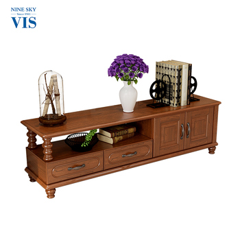Antique Carved Laminate Furniture Tv Cabinet/Victorian Style Tv Stands Furniture