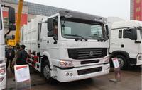 sinotruk 266hp electric garbage truck top sale