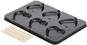 Dr. Oetker 2492 Lolly Baking Tray, Heart by Dr. Oetker
