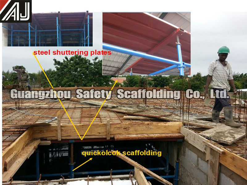 Scaffolding And Shuttering : African shuttering plate type concrete slab formwork