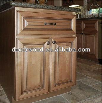 Raised Panel 1 Drawer 2 Doors Wooden Kitchen Base Cabinet Buy