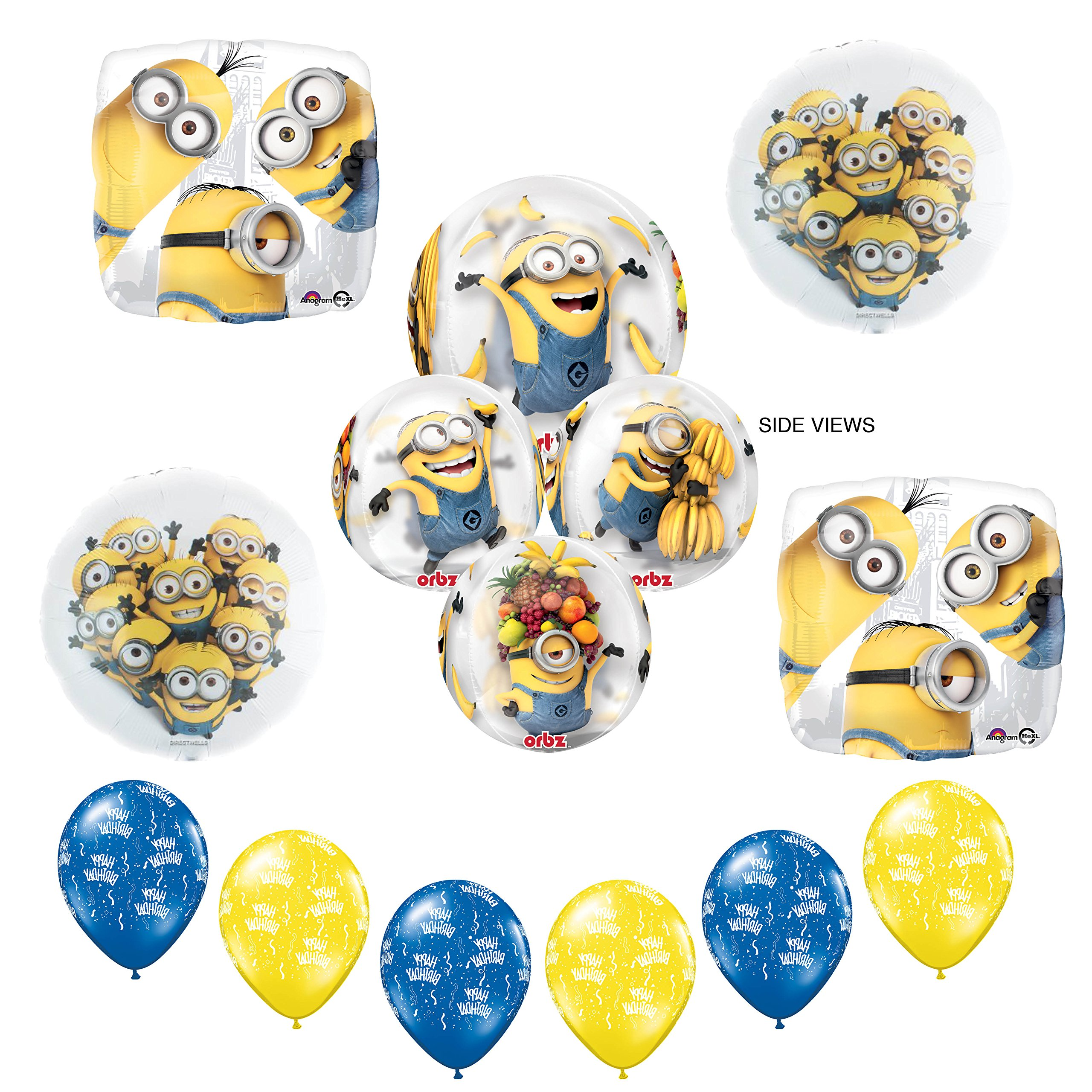 Buy Official Despicable Me 2 Minions 6th Birthday Card Age 6 In