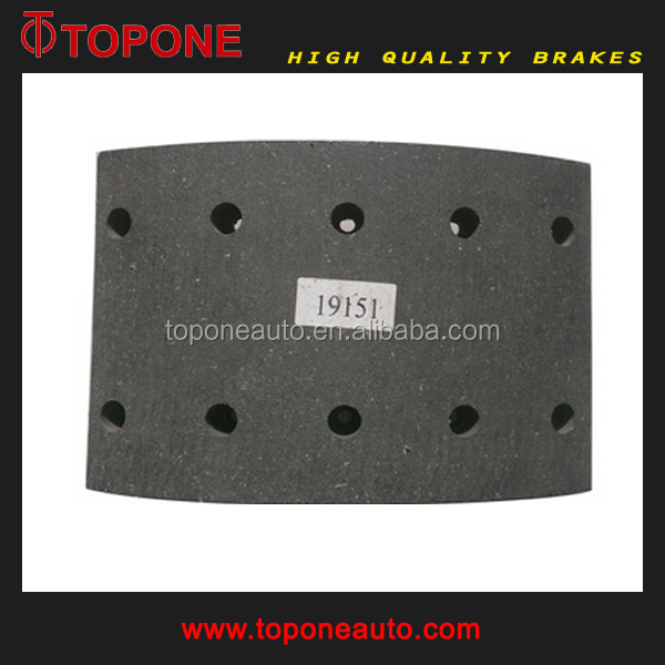 Truck Brake Lining For Daf Oe 0683263 0683262 0683013