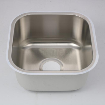 Cupc 18gauge 1 2mm Thick Stainless Steel Single Drainboard